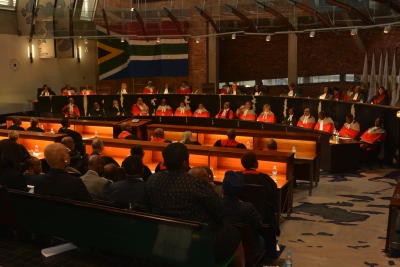 Making South Africa's courts accountable to the people and to God