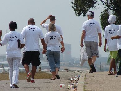 Helenvale anti-crime prayer walk in pictures