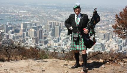 """War Piper 4 Mighty Men"" to gather Christian warriors along 1 500km route"
