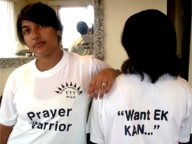 Prayer warriors head for Helenvale