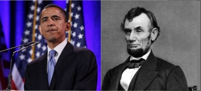 Obama and Lincoln victory speeches compared
