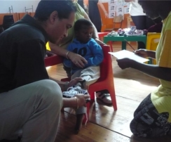 TOMS story inspires shoe givers