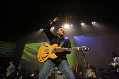 Calling worship leaders: chance to audition with Israel Houghton!
