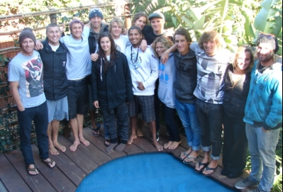 Making disciples through passion for surfing