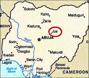 Another church in Jos, Nigeria hit by suicide bombing