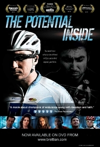 Awesome mountain bike action in well-made human drama movie