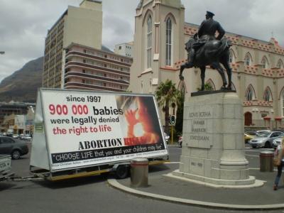 "Anti-abortion billboard ""offensive"" says ASA"