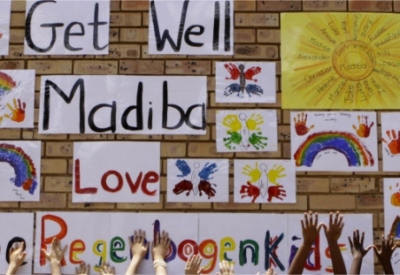 Christians praying for Mandela's recovery