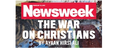 "The War On Christians — Newsweek ""breaks conspiracy of silence"""