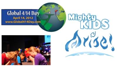 One million Christians praying for 2 billion children on Saturday (Global 4/14 Day)
