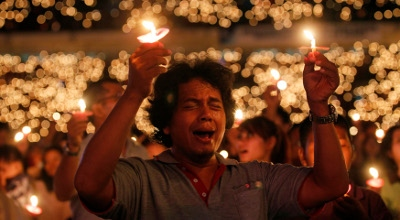 Historic Christian prayer gathering in Muslim Indonesia