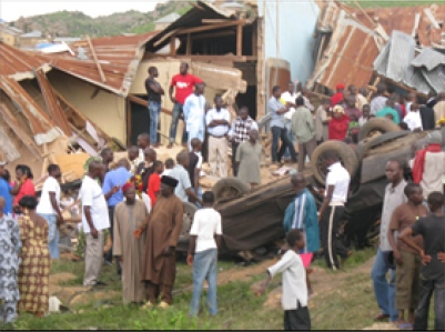 Suicide bombing hits another church in Jos, Nigeria
