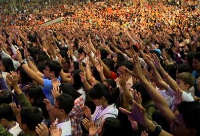 Media Village documents historic global prayer day in Indonesia