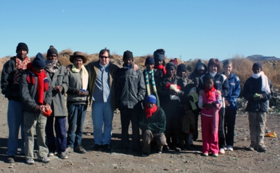 Scarves and beanies blessing to beat Karoo winter chill