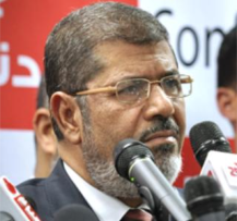 Egyptian president Mohammed Morsi. (Photo:  Jonathan Rashad on Wikimedia Commons under a Creative Commons License)