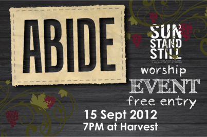 Abiding is key to PE worship event