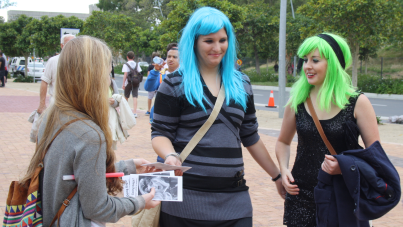 Gospel outreach at Lady Gaga concert