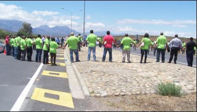 W Cape taxi bosses pray for safety on roads