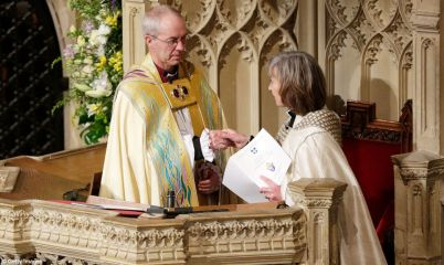 New Archbishop installed for Anglican Communion