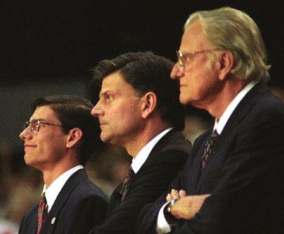(Photo: Billy Graham Evangelistic Association / File) From left to right: Will Graham, Franklin Graham, Billy Graham Read more at http://www.christianpost.com/news/will-graham-billy-graham-has-started-filming-for-likely-last-sermon-my-hope-america-92787/#mEH0b0P7kDK9hU1x.99