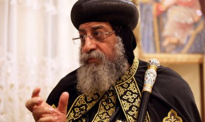 Coptic Orthodox Pope Tawadros II criticised President Morsi's handling of recent sectarian violence which has left several Egyptians dead in the last 4 days.