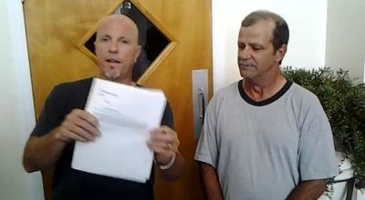 Rodney Thompson and Glenn Hicks (right).