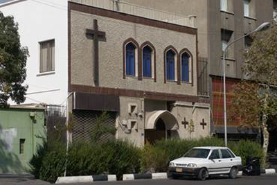 Central Assembly of God Church in Tehran.