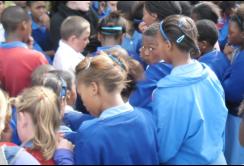 Miracles, tears, joy at PE school prayer walk