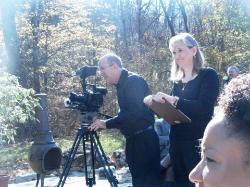 Silent feature film crew.