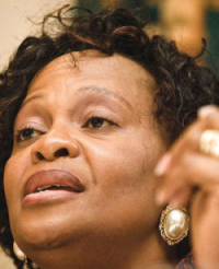 Premier Nomvula Mokonyane. (PHOTO: Beeld via News24.