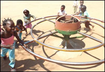 Flying missionaries make life-changing deliveries to village children
