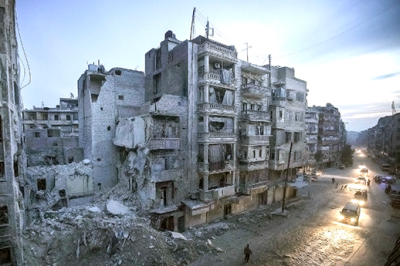 Syria has been torn apart by a conflict lasting more than two years. (PHOTO: flickr.com/freedomhouse)
