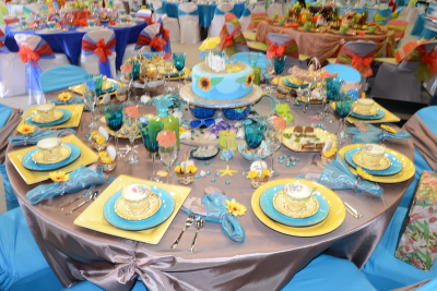 The table that scooped the Best Decor award.