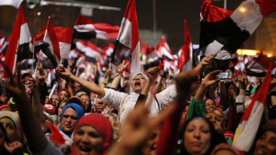 Egyptian military ousts Morsi, suspends constitution