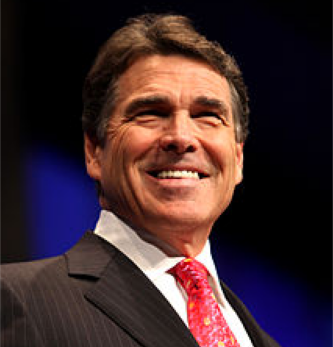 Texas Governor Rick Perry.