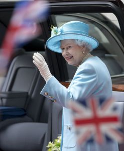 Britain legalised gay marriage today after Queen Elizabeth II symbolically gave her stamp of approval.