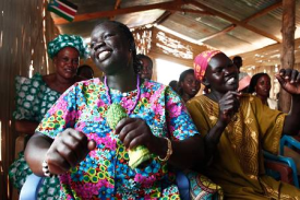 Christian worshipers in South Sudan. To the north, in predominantly Muslim Sudan, pressures have mounted against foreign aid workers and Christians.