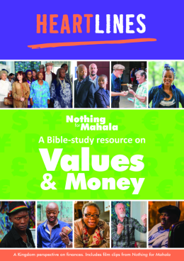 Bible Study resource front cover.