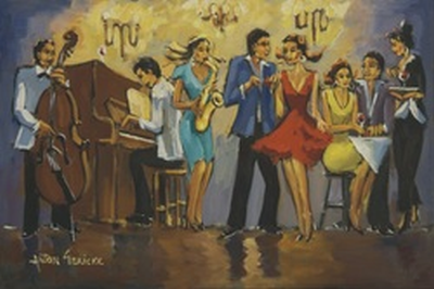 Celebration by Anton Gericke, one of the works on display at the Freedom Exhibition.