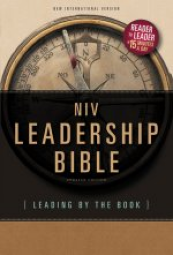 NIV Leadership Bible: Leading by The Book