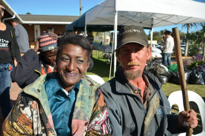 260 homeless and broken people enjoyed a day of royal treatement at the Matthew Lunch in Port Elizabeth on Saturday, September 21.