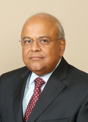 Finance Minister Pravin Gordhan,