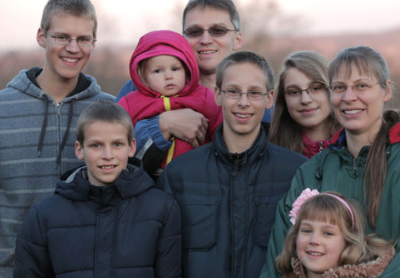 The Romeike family fled their home country after being prosecuted for home schooling, which is illegal in Germany. (HSLDA)