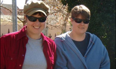 Leanne Goodberry (left) and Chantal Coetzee.