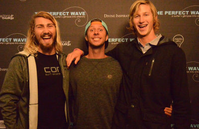 World premiere of SA-made surfing testimony movie held at Jeffreys Bay