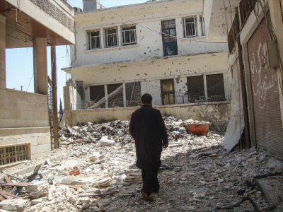 The civil war in Syria has been especially deadly for the country's dwindling Christian population.(PHOTO: World Watch Monitor).
