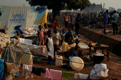 More than 1 million people have been displaced and nearly 2 million require urgent humanitarian assistance, according to aid organisations. UNHCR, S. Phelps / Flickr / Creative Commons