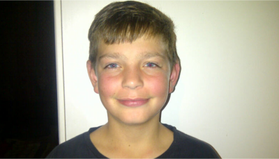 Young PE evangelist, Jason Vermaak, 12.