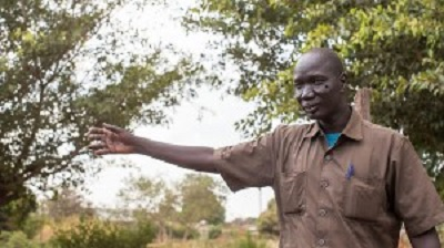 Ps John Monycho, his family and church congregation sought refuge in the bush after fighting broke out near his home
