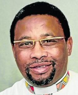 Archdeacon Zweli Tom.